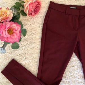 Bogo free pants🙌 Express Dress Slacks maroon